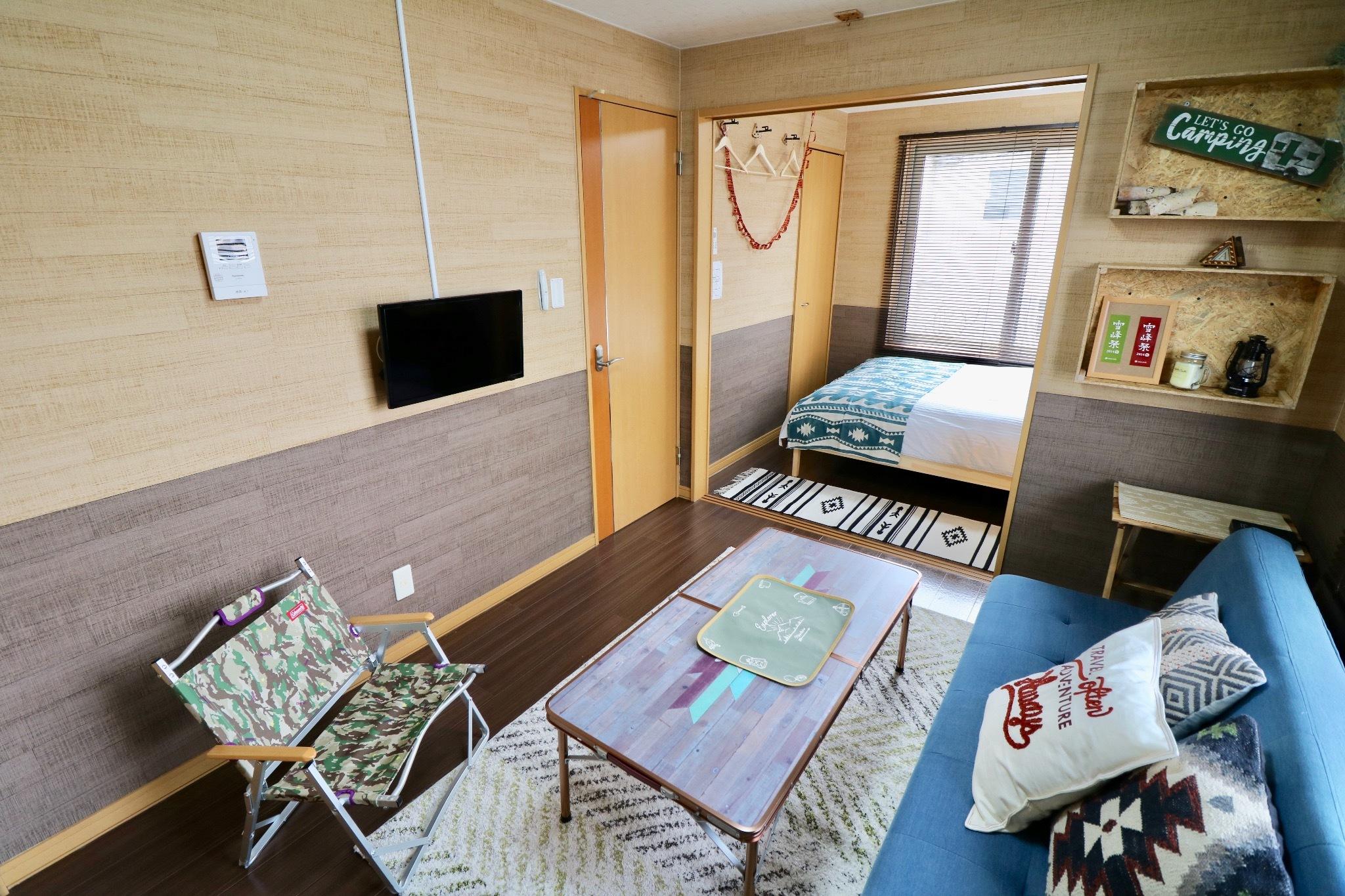 JC105 : 最大3名/北海道アウトドア/無料送迎/無料駐車場