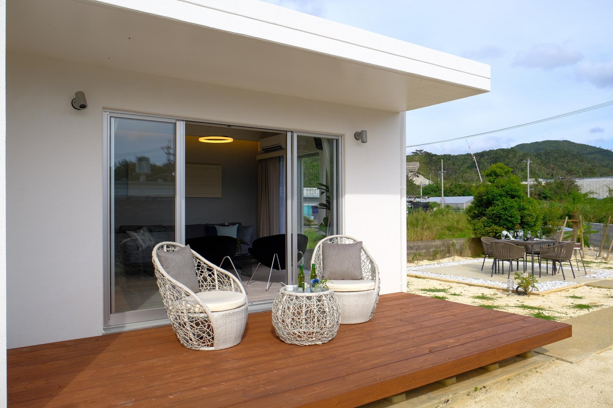 長期宿泊大歓迎!大海岸まで徒歩1分!庭付き一戸建でゆったりワーケーションを始めてみませんか?