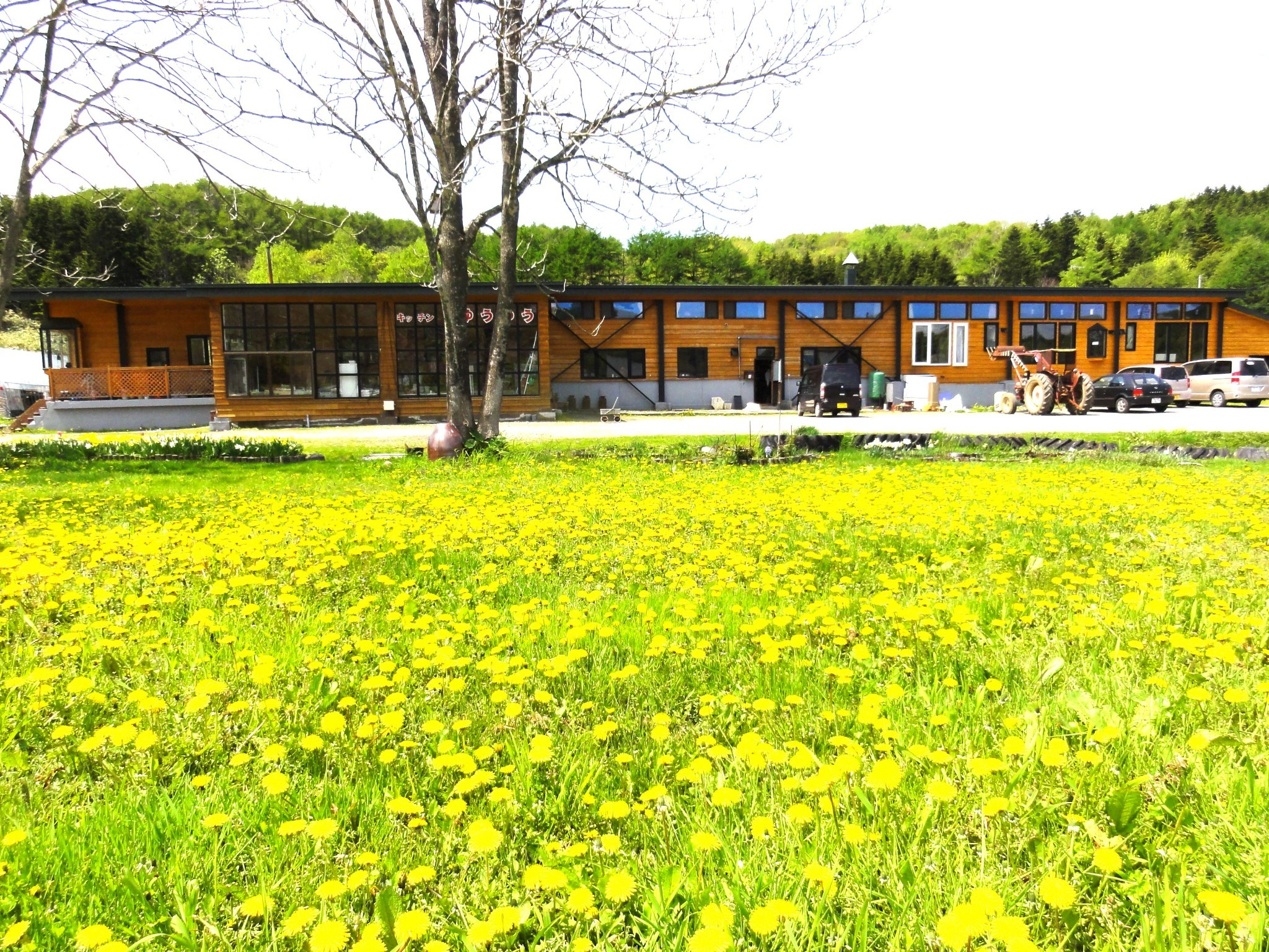 【Main House】Free Wi-Fi☆ Free Parking/ Front desk, Guest house, Laundry, GOEMON-BURO, Farm restaurant, Shops, Lounge.