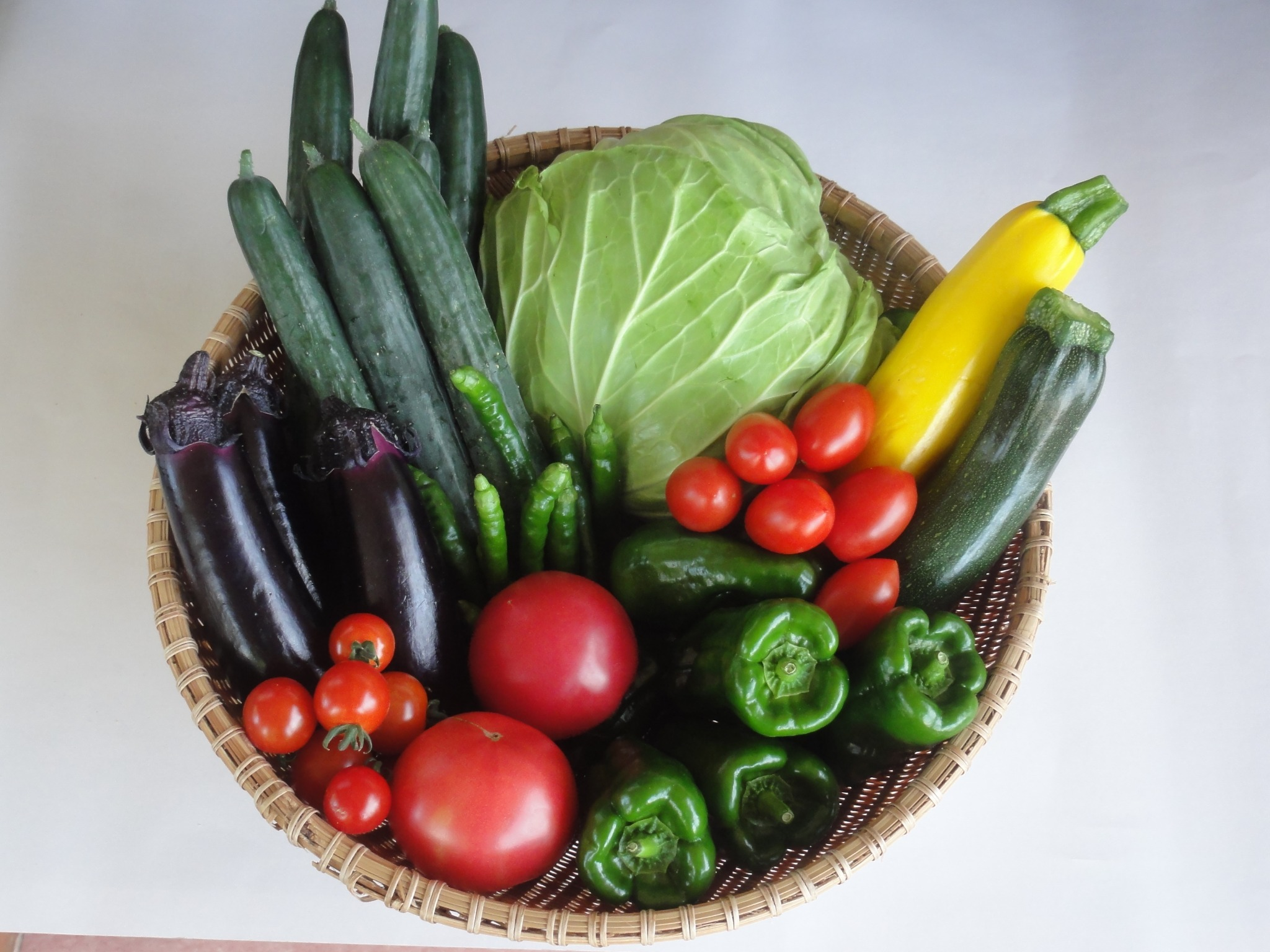 【Our organic vegetables】