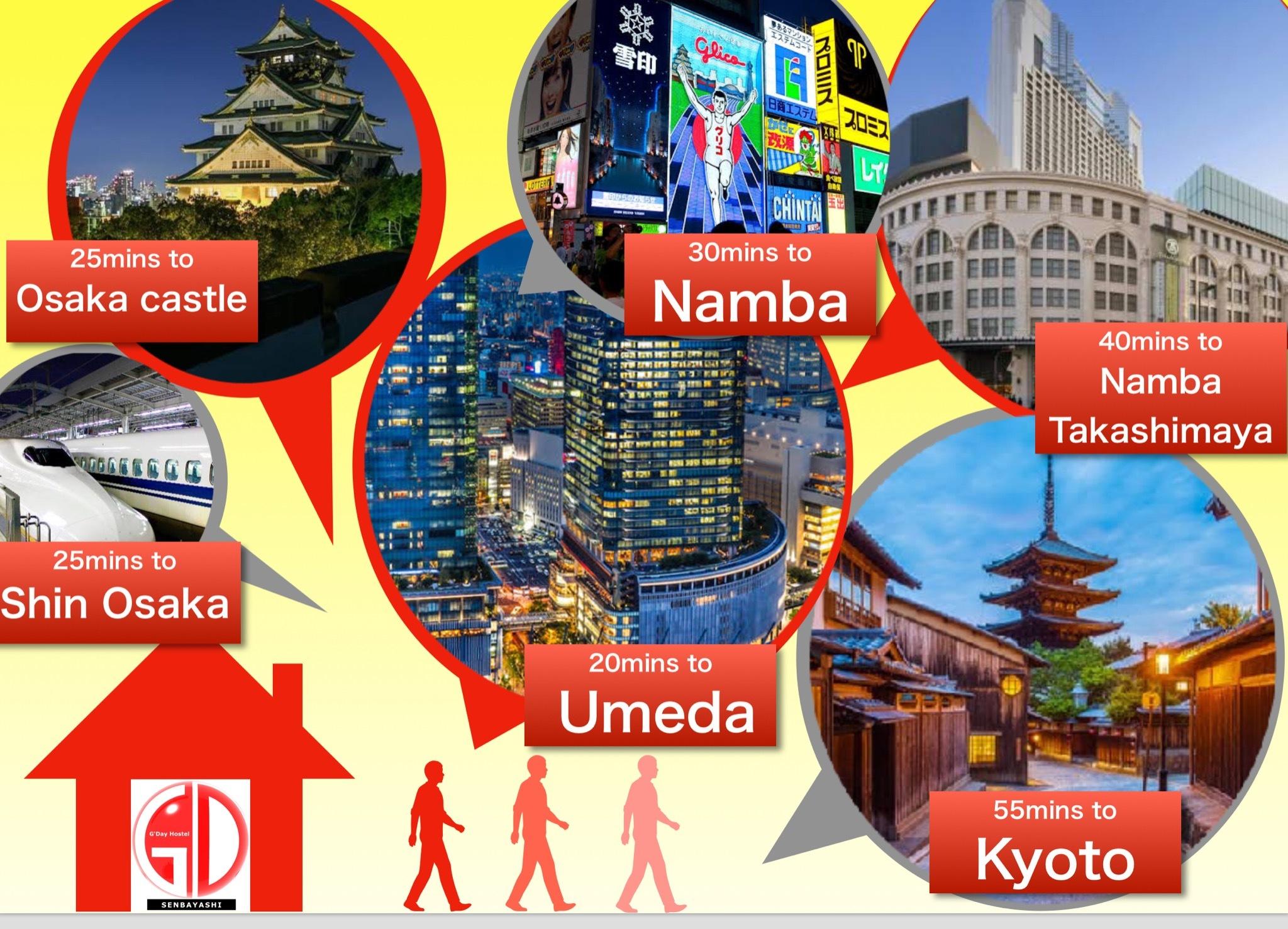 【駅近】最大12人!大型スペースと最新設備でゆとりあるご旅行を。