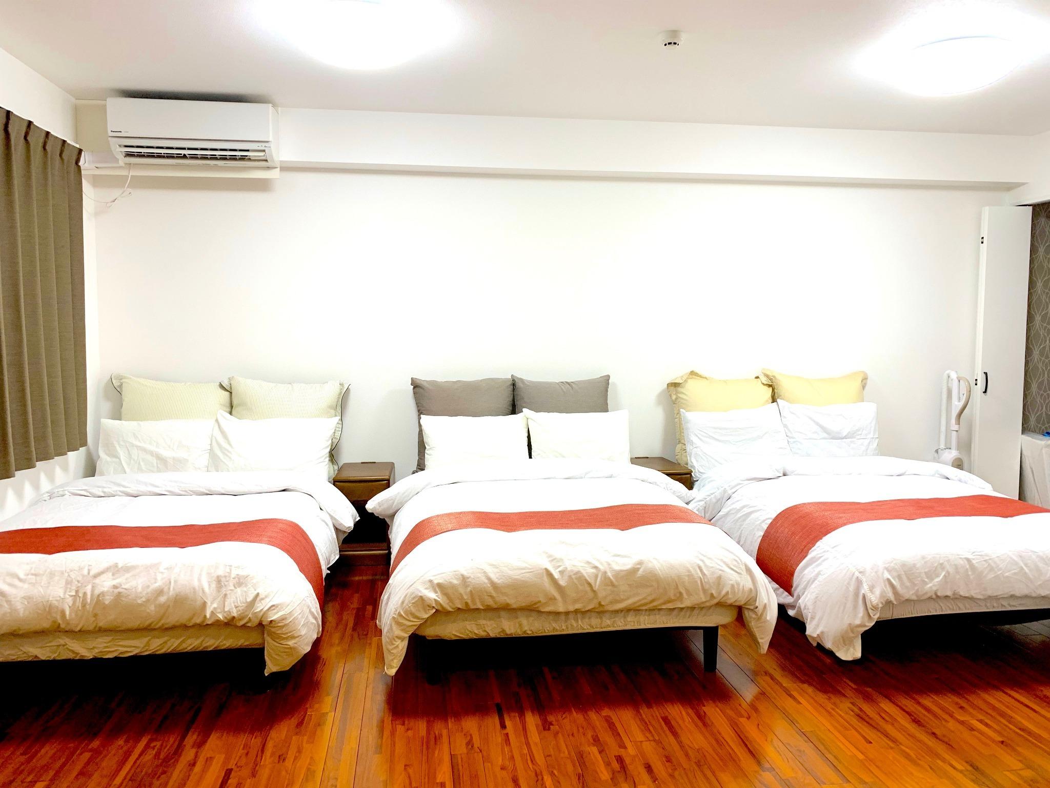 201号室寝室1