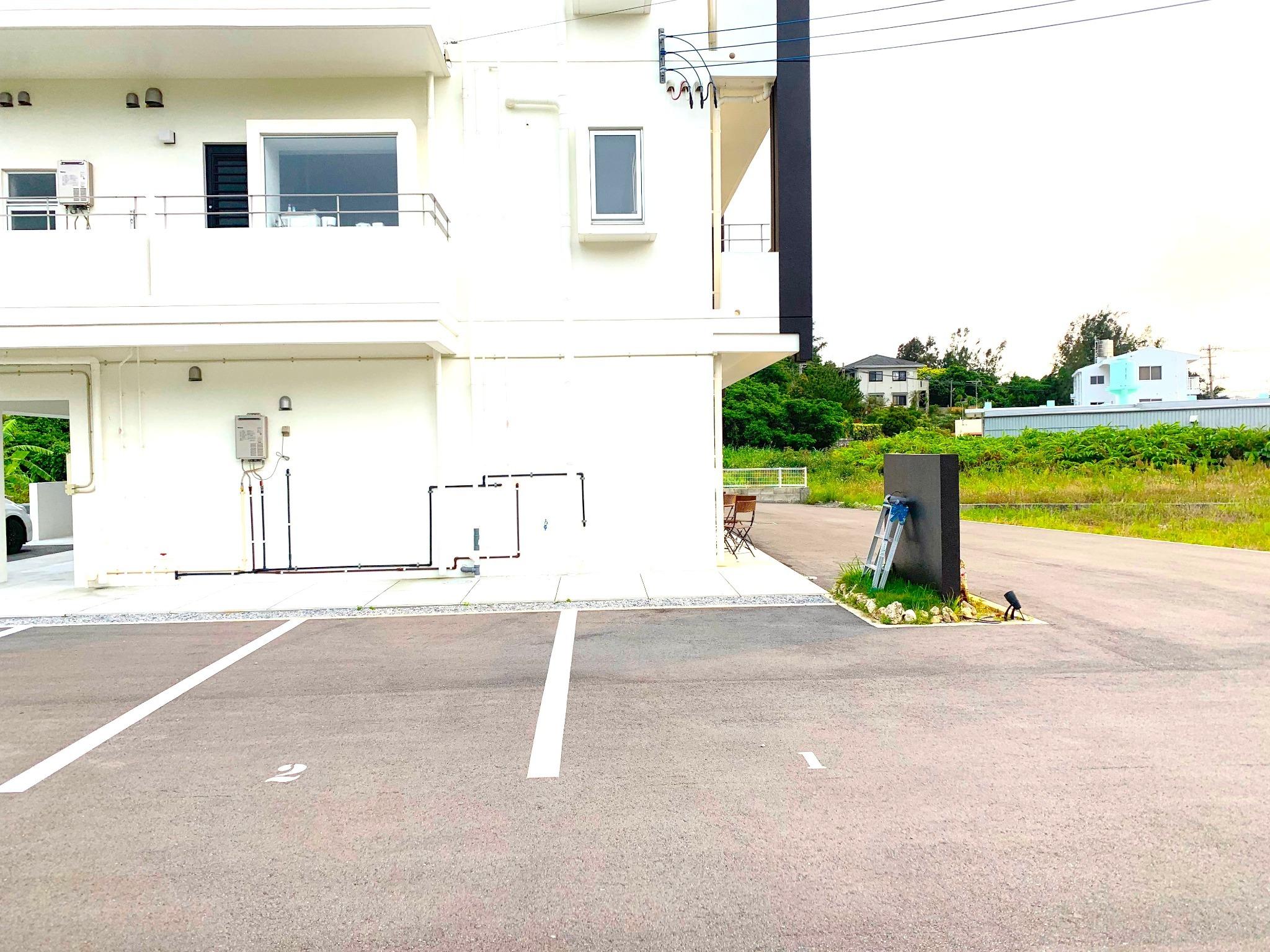 施設内無料駐車場