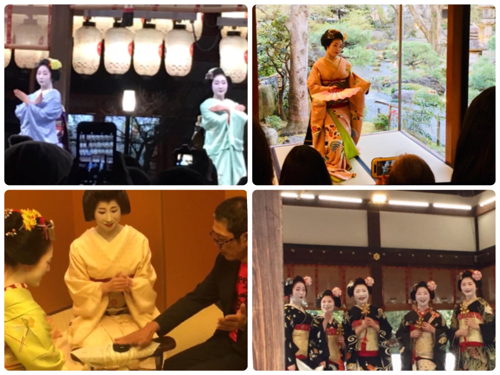 芸舞妓さんを観るイベントも多く、またプライベートのお席もご紹介できます