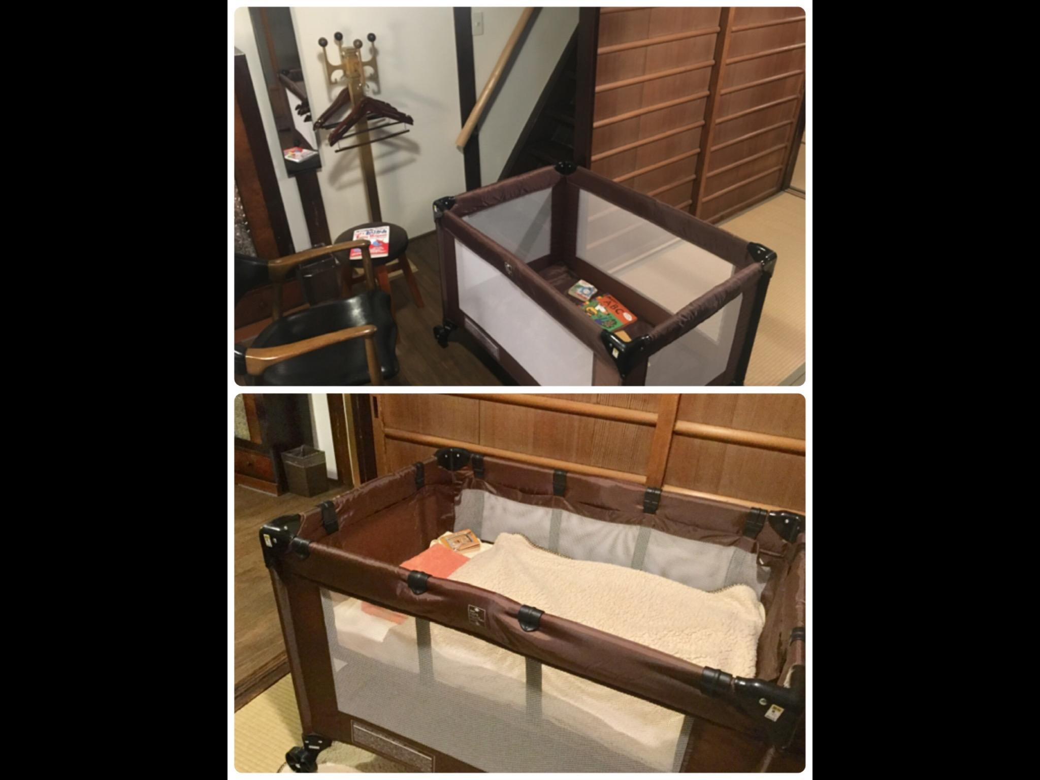 ご希望により 無料でベビーサークル(お昼寝ベッドとしての使用可)設置