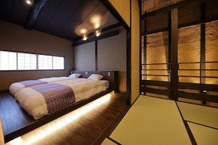 京のおおぞら褒華(HOUKA) 京都で初めて優良認定を受けた伝統的な趣ある京町家施設全景