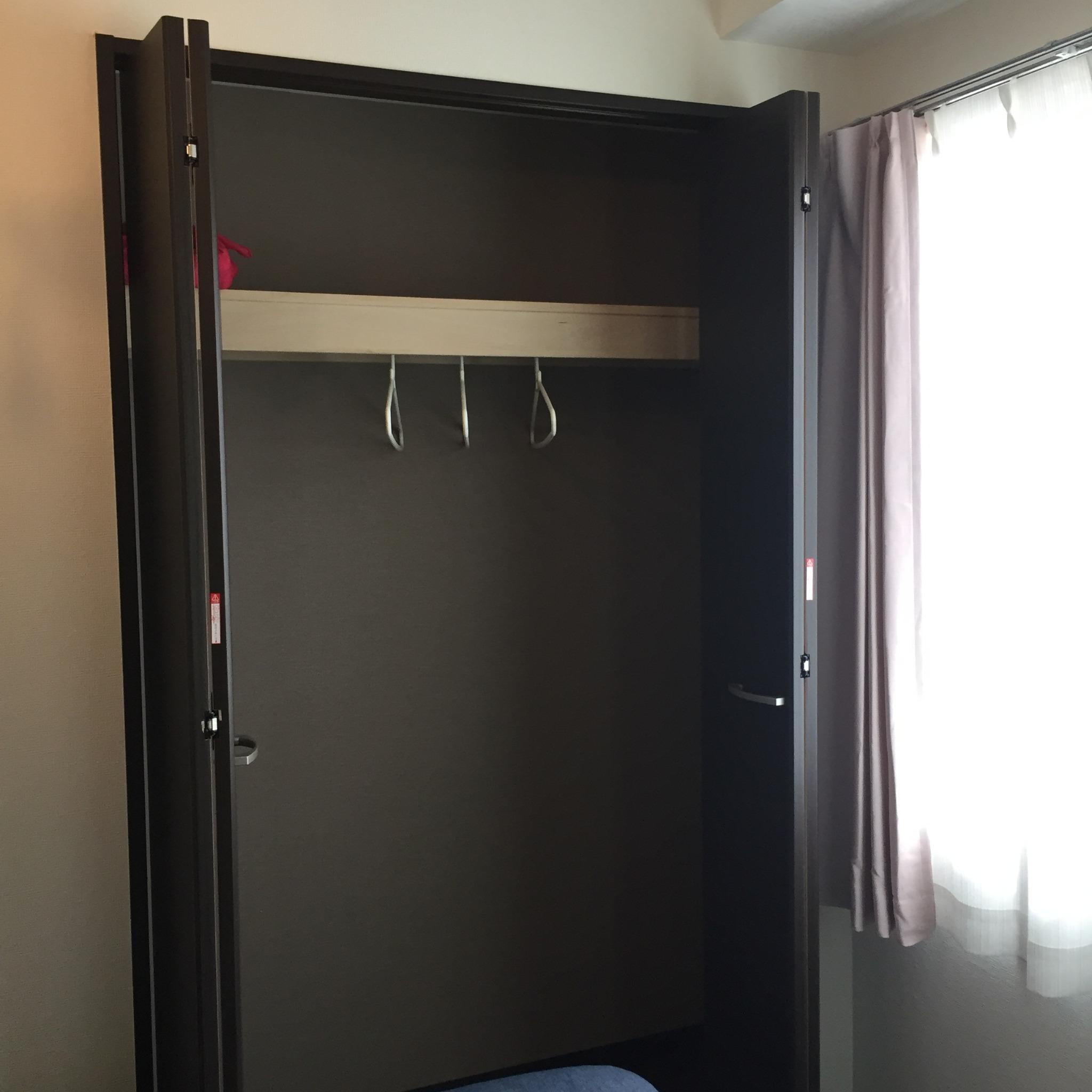 closet (bed room)