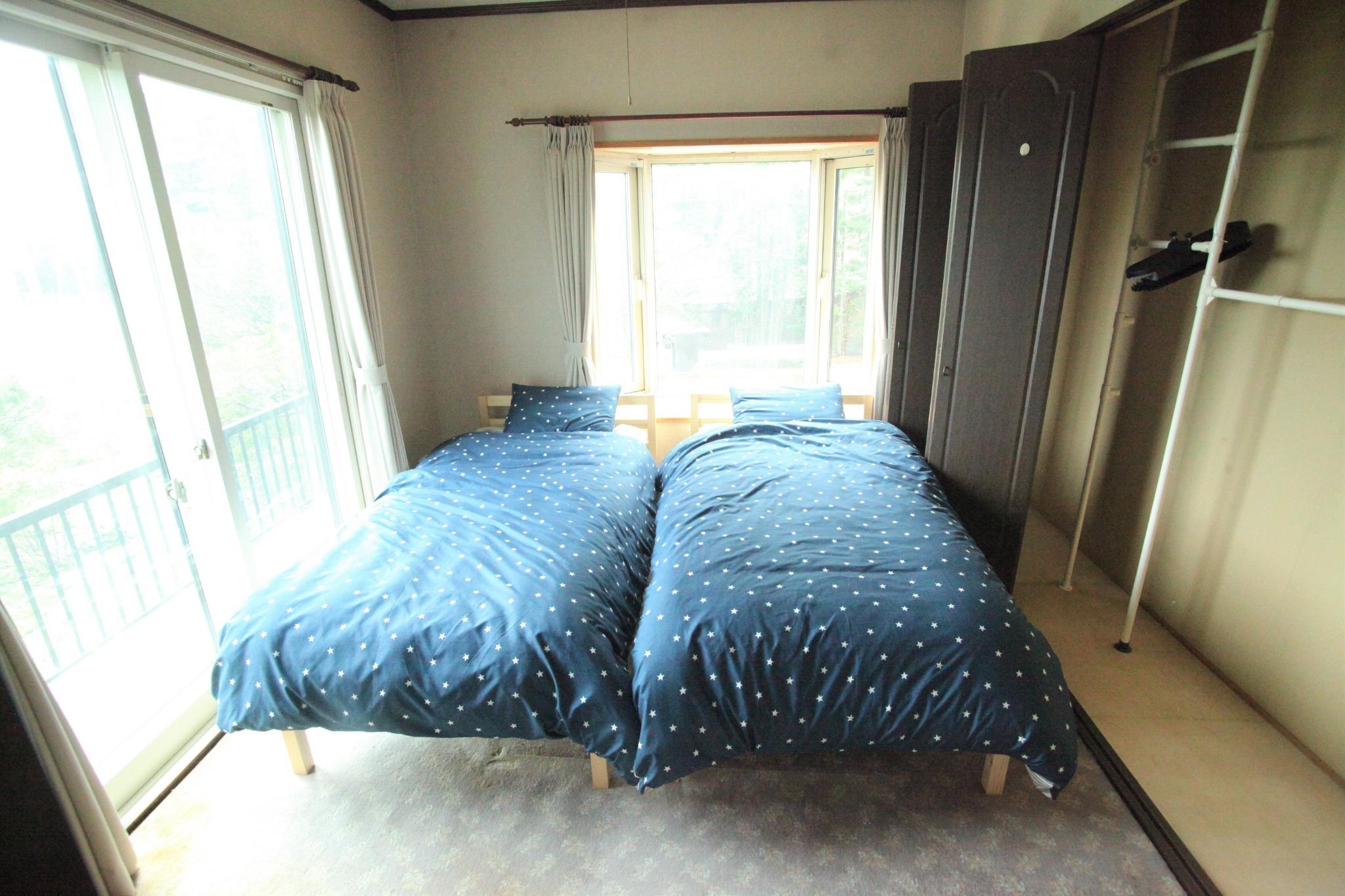 洋室2名部屋(ベッド) 1F