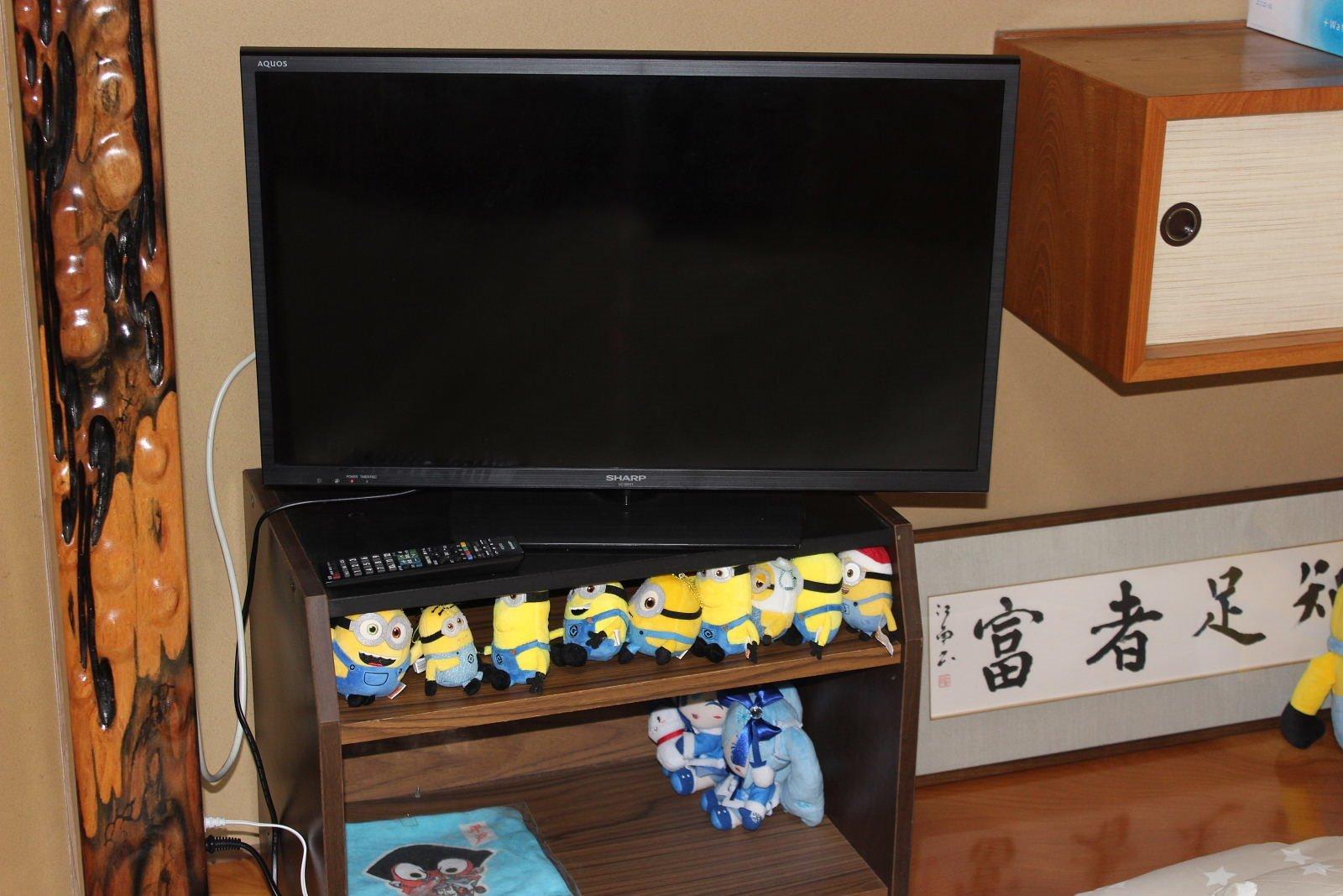 2階テレビ