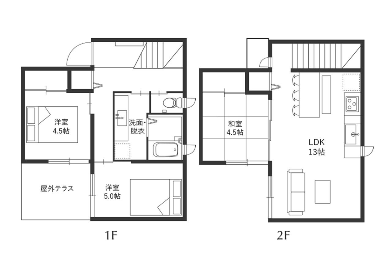 客室案内図