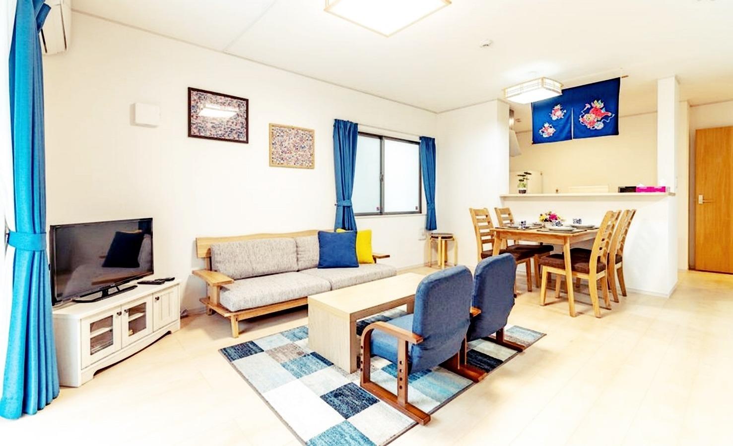 Cozy House B 合法民泊-2-3家族に最適なスペース/3LDKの貸切宿です