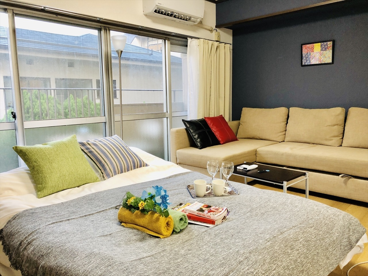 Clean room & bed