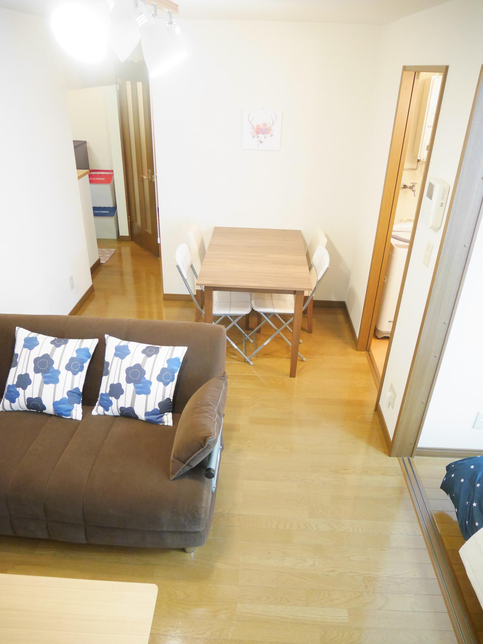 E3 105 JR札幌駅から一駅、苗穂駅かた徒歩2分の静かなアパートです。