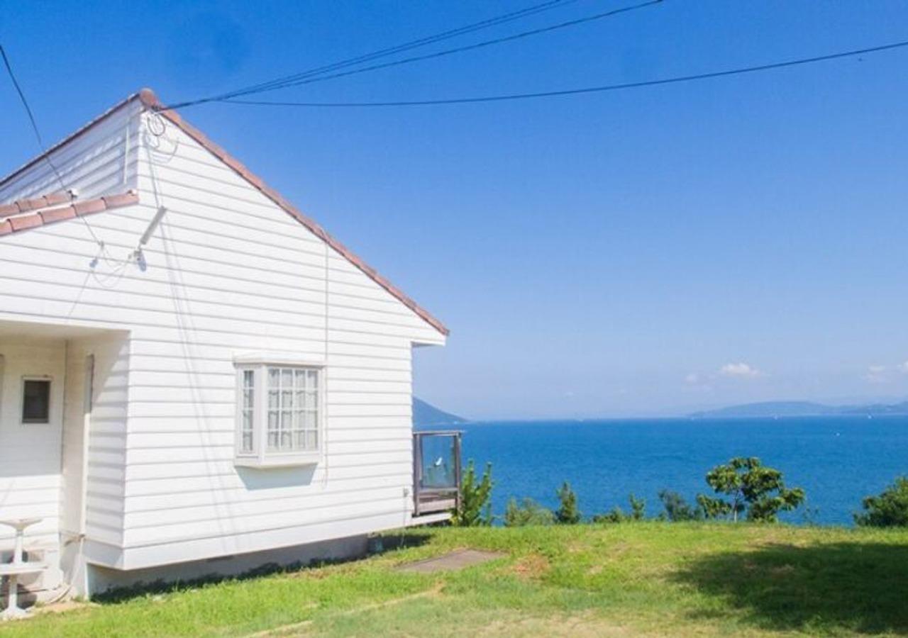 小豆島のプライベートコテージ!目の前は美しい海辺 01★Free wifi
