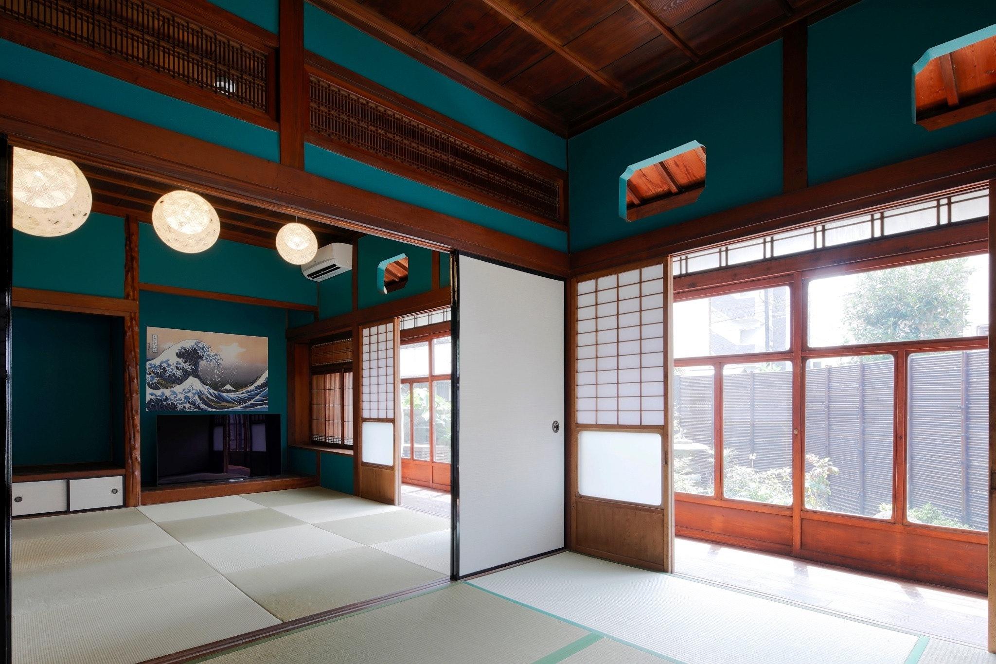 別府駅から徒歩2分!日本の建物のスタイルを楽しんで頂ける古民家です☆最大6名様/WIFI無料