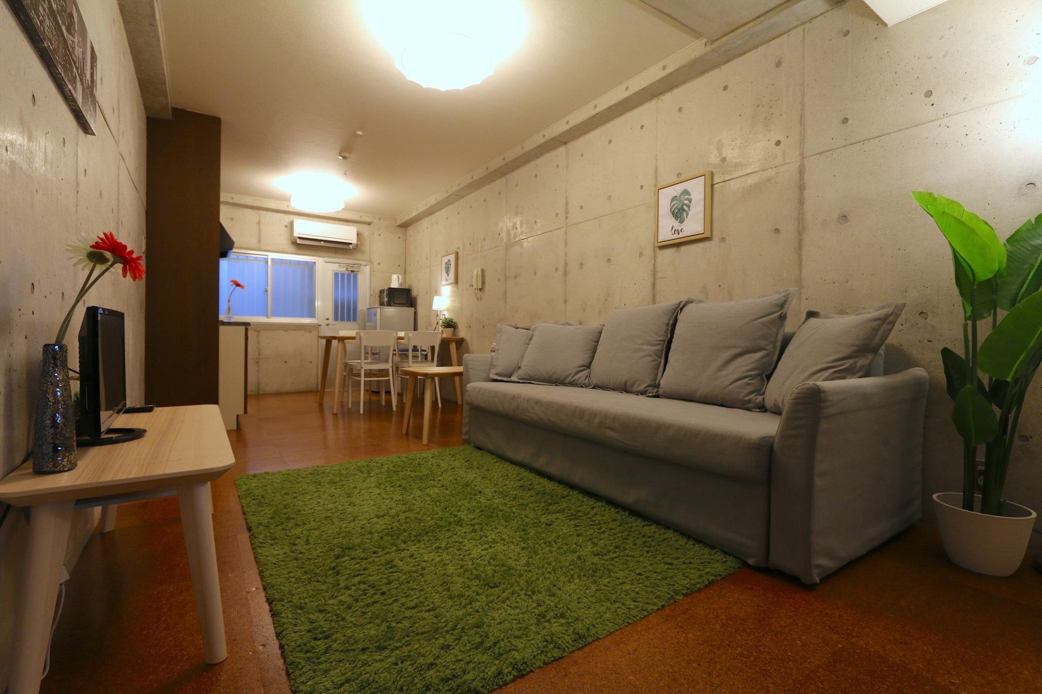 KU1 ★梅田 3階建一軒家まるまる貸切 最大11名★中崎町 100m2