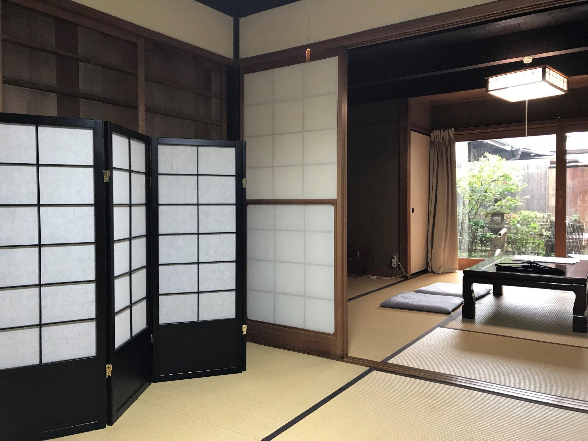 二間の和室