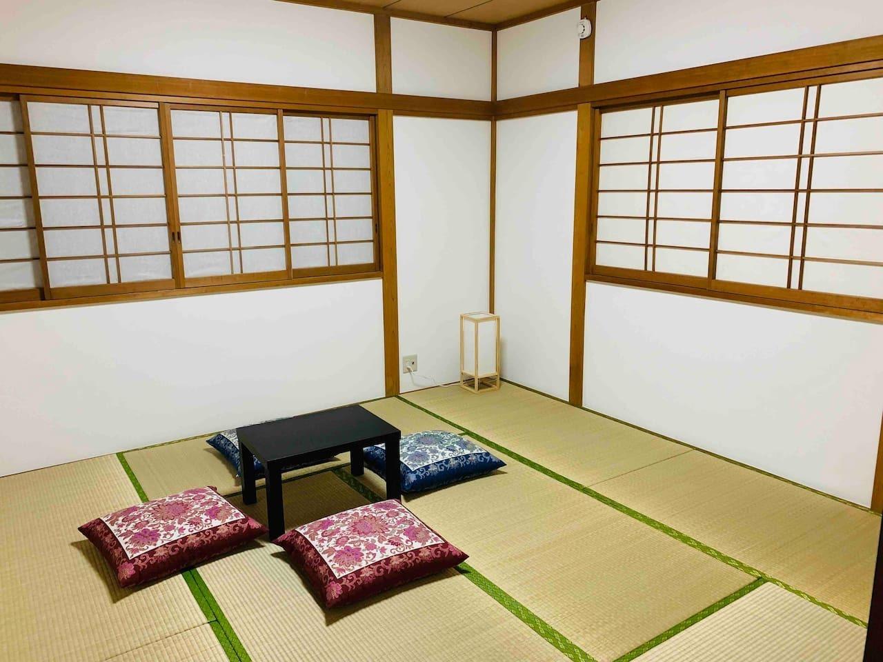 【Japan-style room #203 / 2楼203日式榻榻米 / 2階203和室】