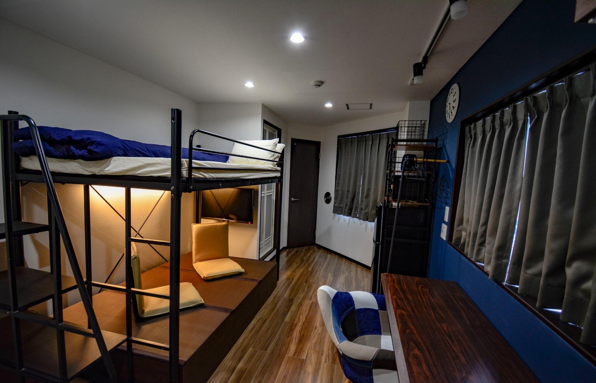 セミダブルサイズ二段ベッド