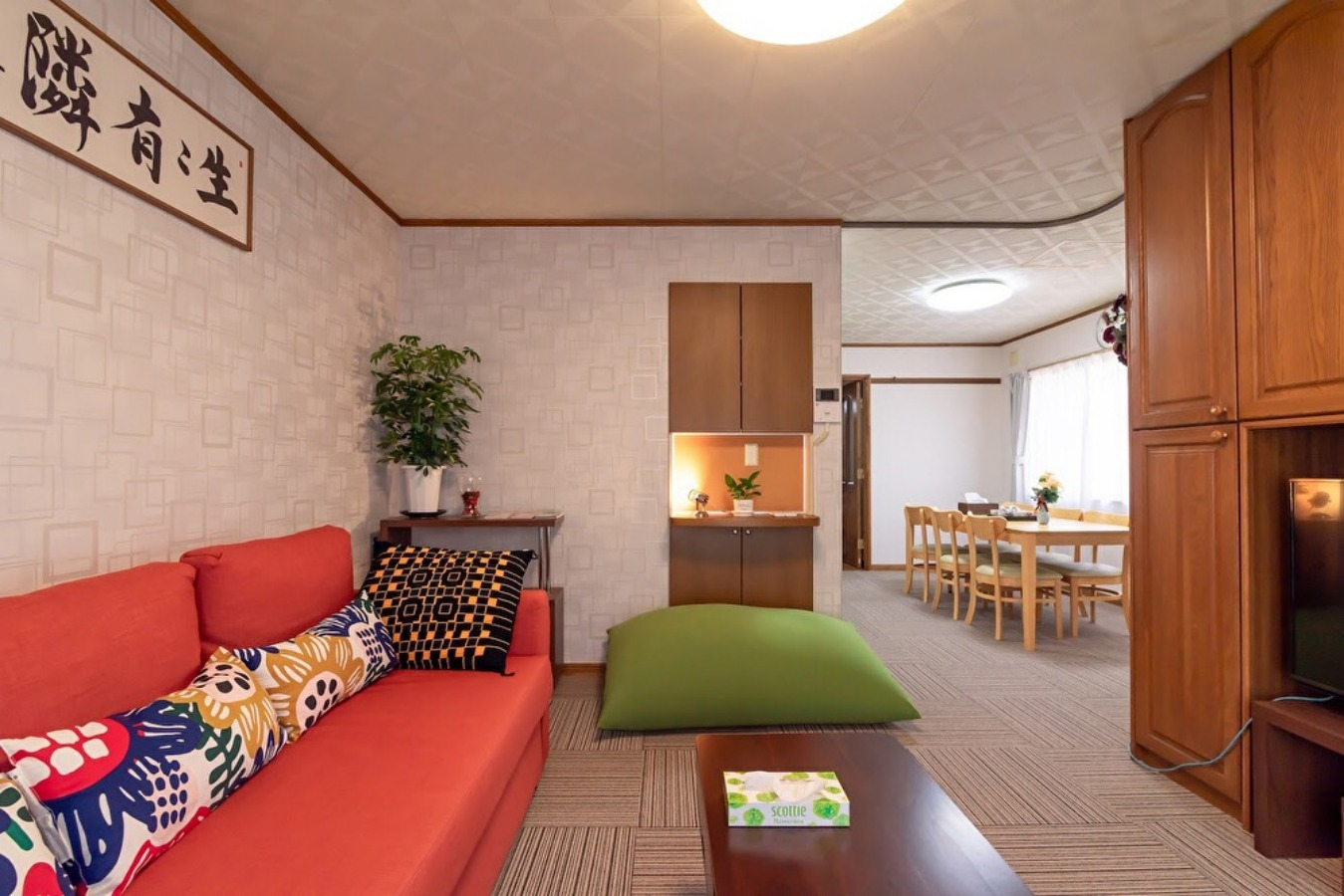 新宿駅8分。5LDKの151m2高級バスルーム付き一軒家。最寄駅から5分、高台に位置する静かな高級住
