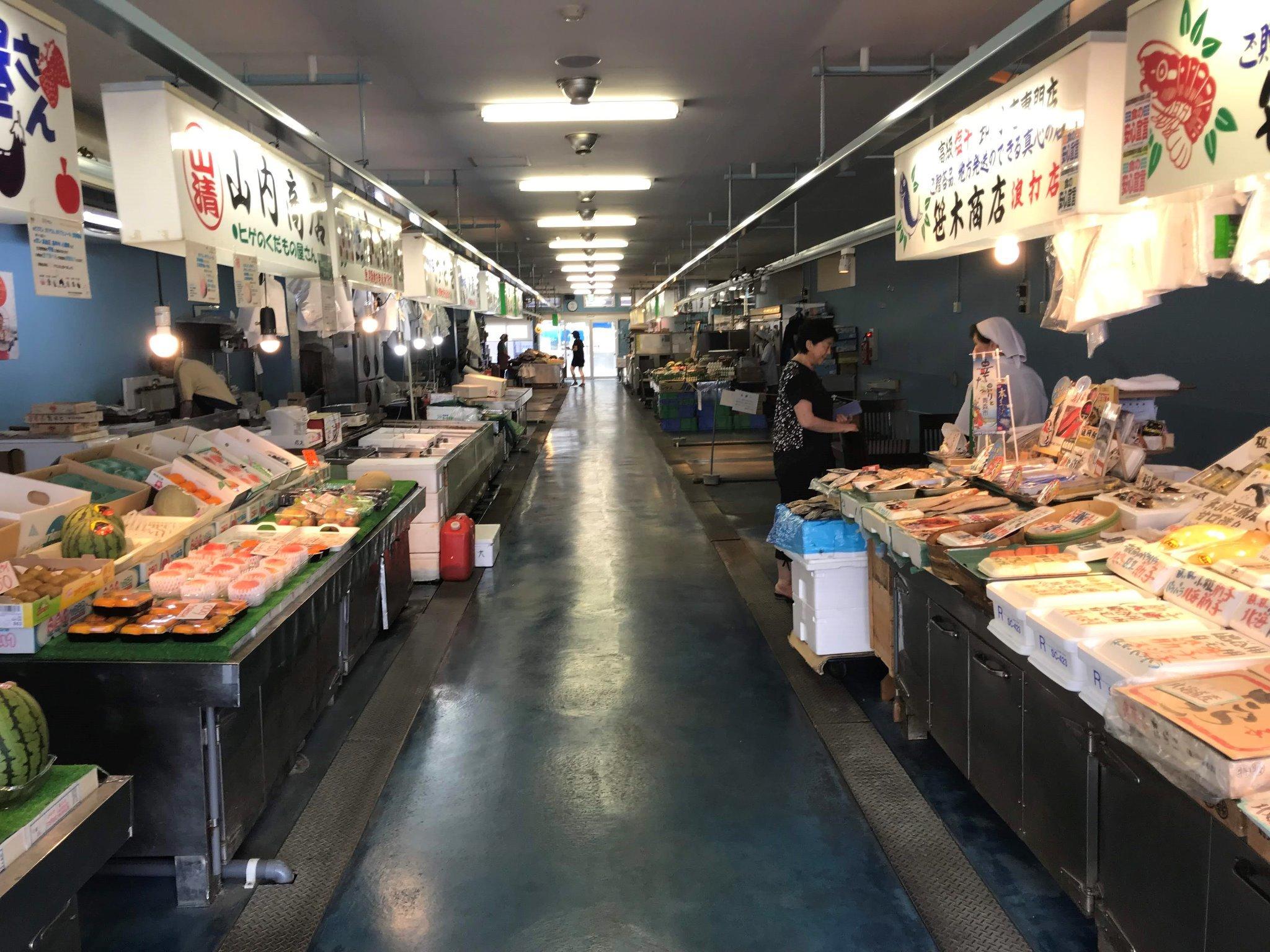 魚・野菜・肉が揃います。