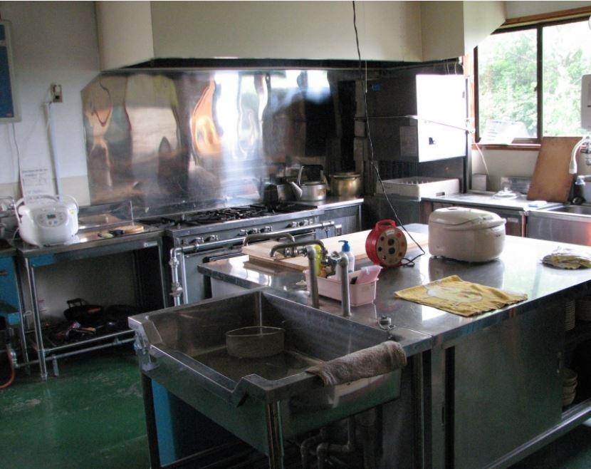 広いキッチン Big Kitchen