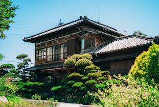築100年超の総檜伝統的日本建築ゲストハウス「花鳥苑」施設全景