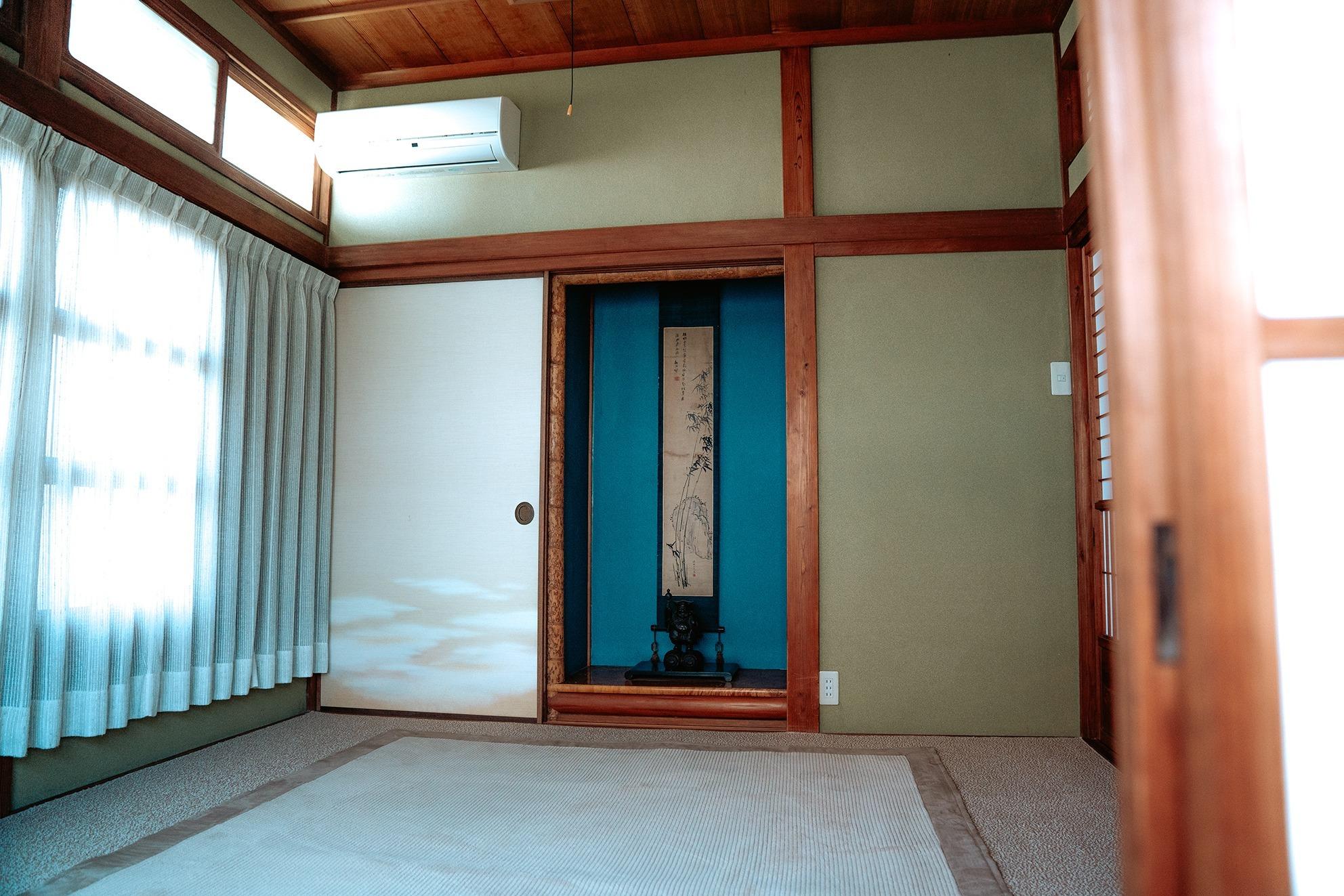 1階 和室寝室 4.5畳