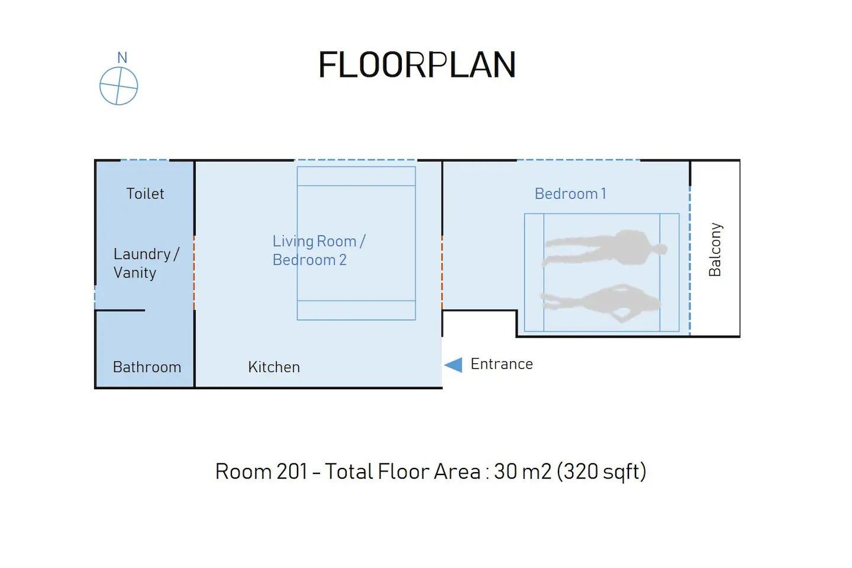 Floor plan 間取図
