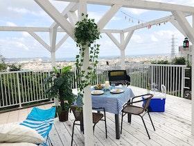 海の見える高台White terrace house施設全景
