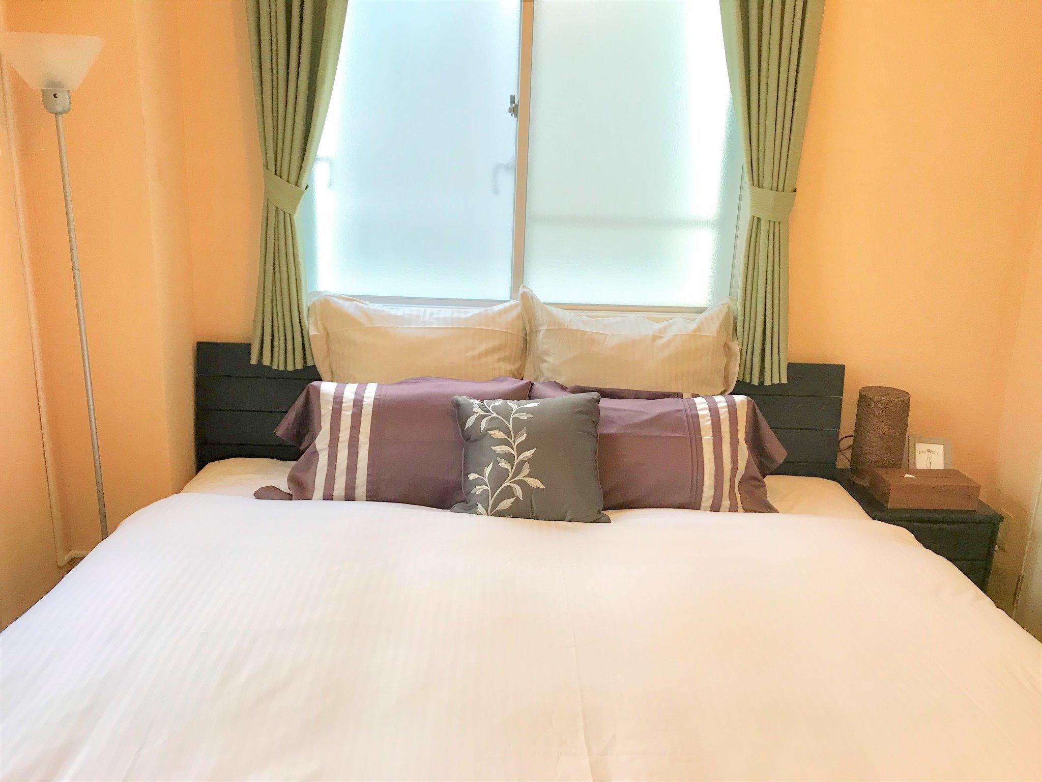 寝室1 キングベッド×1