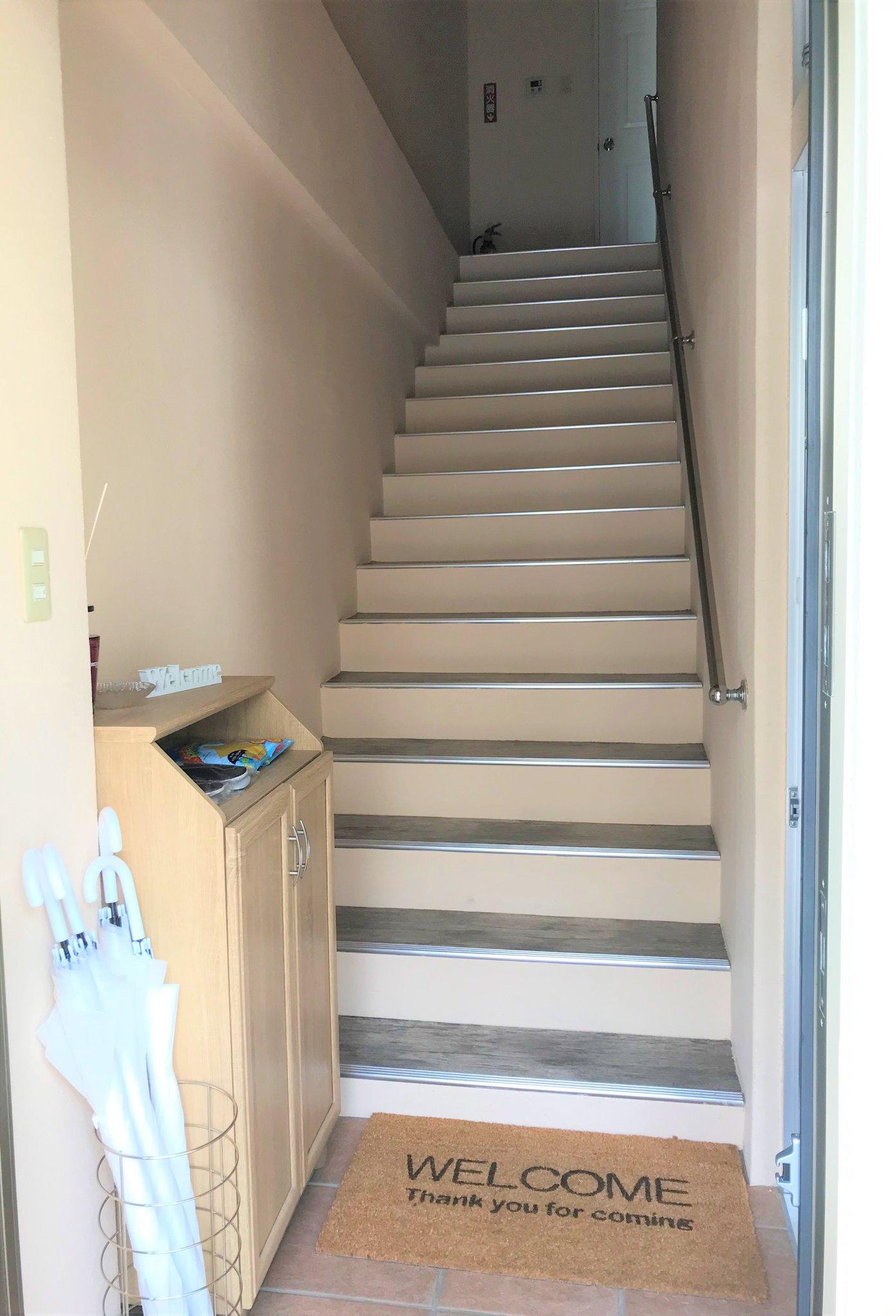 移動は階段