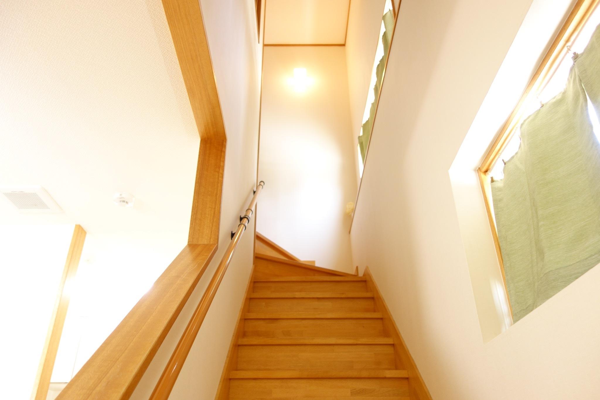 2階へあがる階段☆