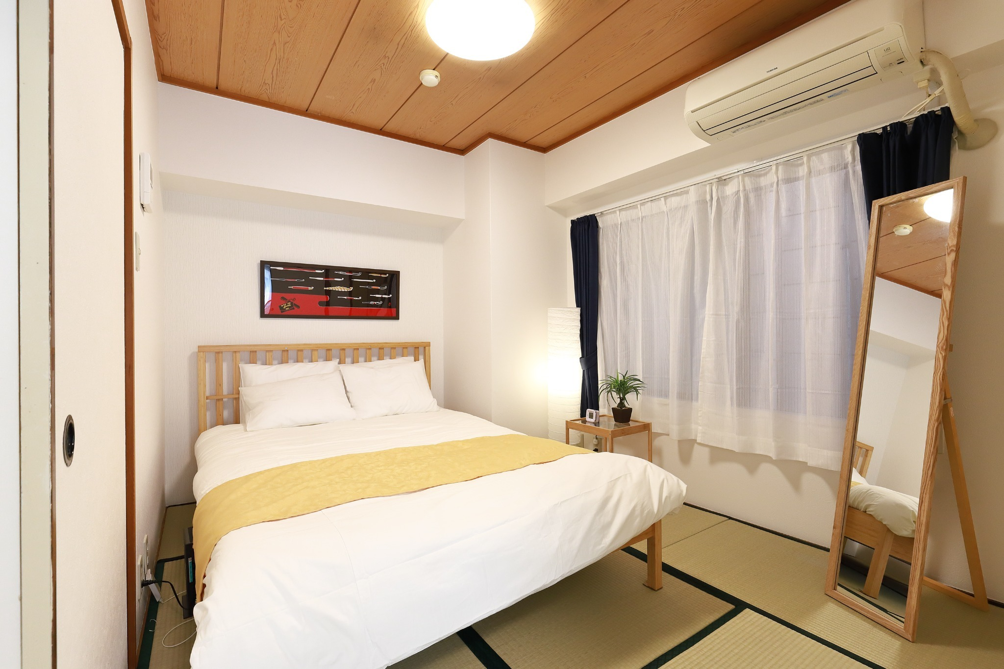 ~Japanese-style room~ double bed