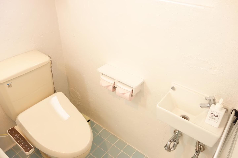 嬉しい、ウォシュレット付きトイレ☆