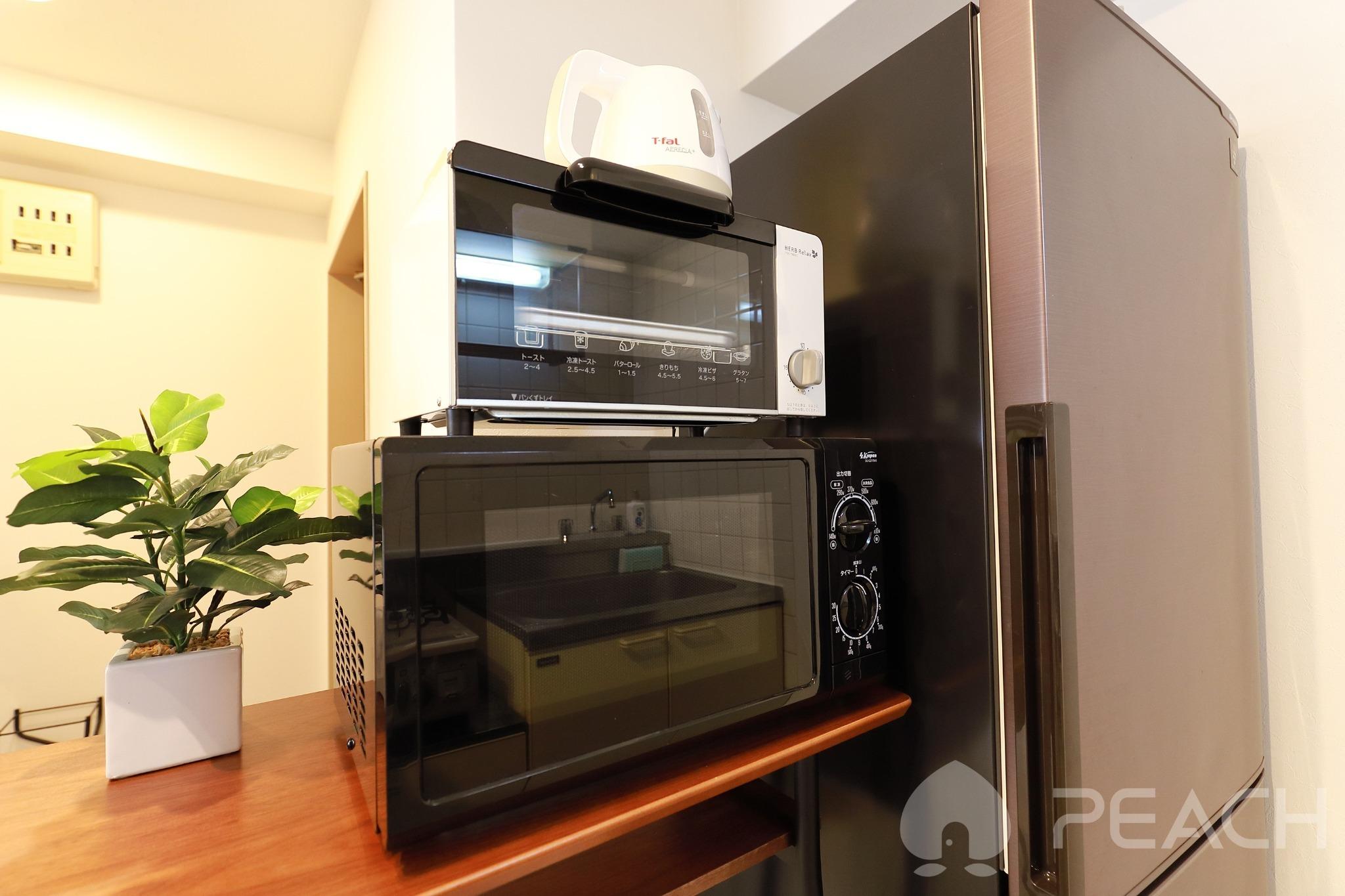 microwave,Toaster,Kettle
