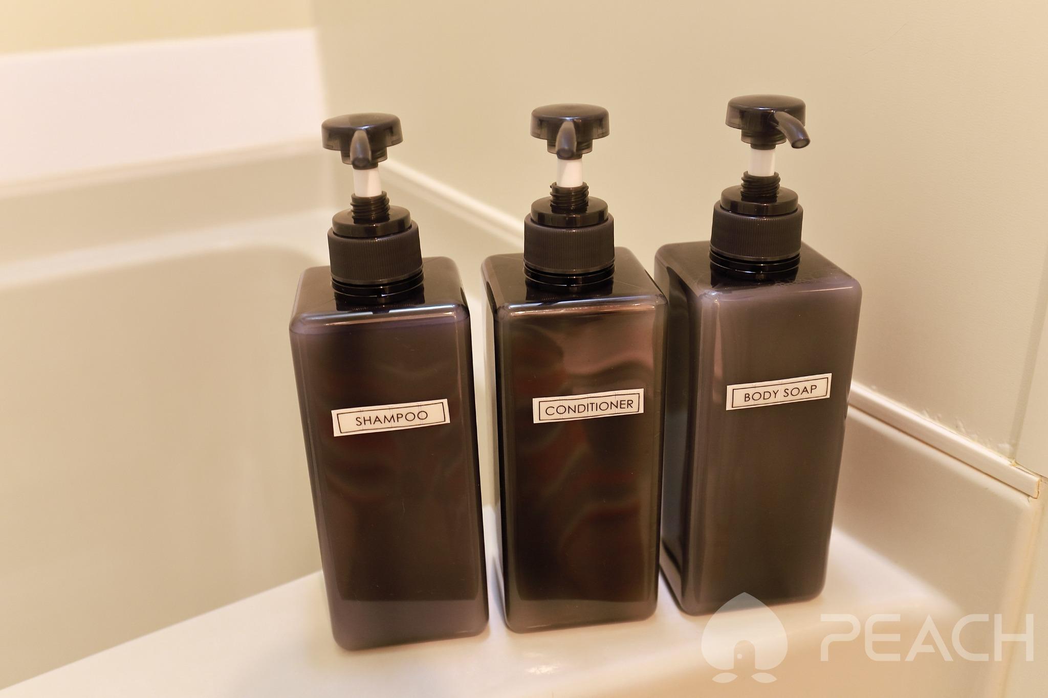 bath room ☆body soap, shampoo, conditioner