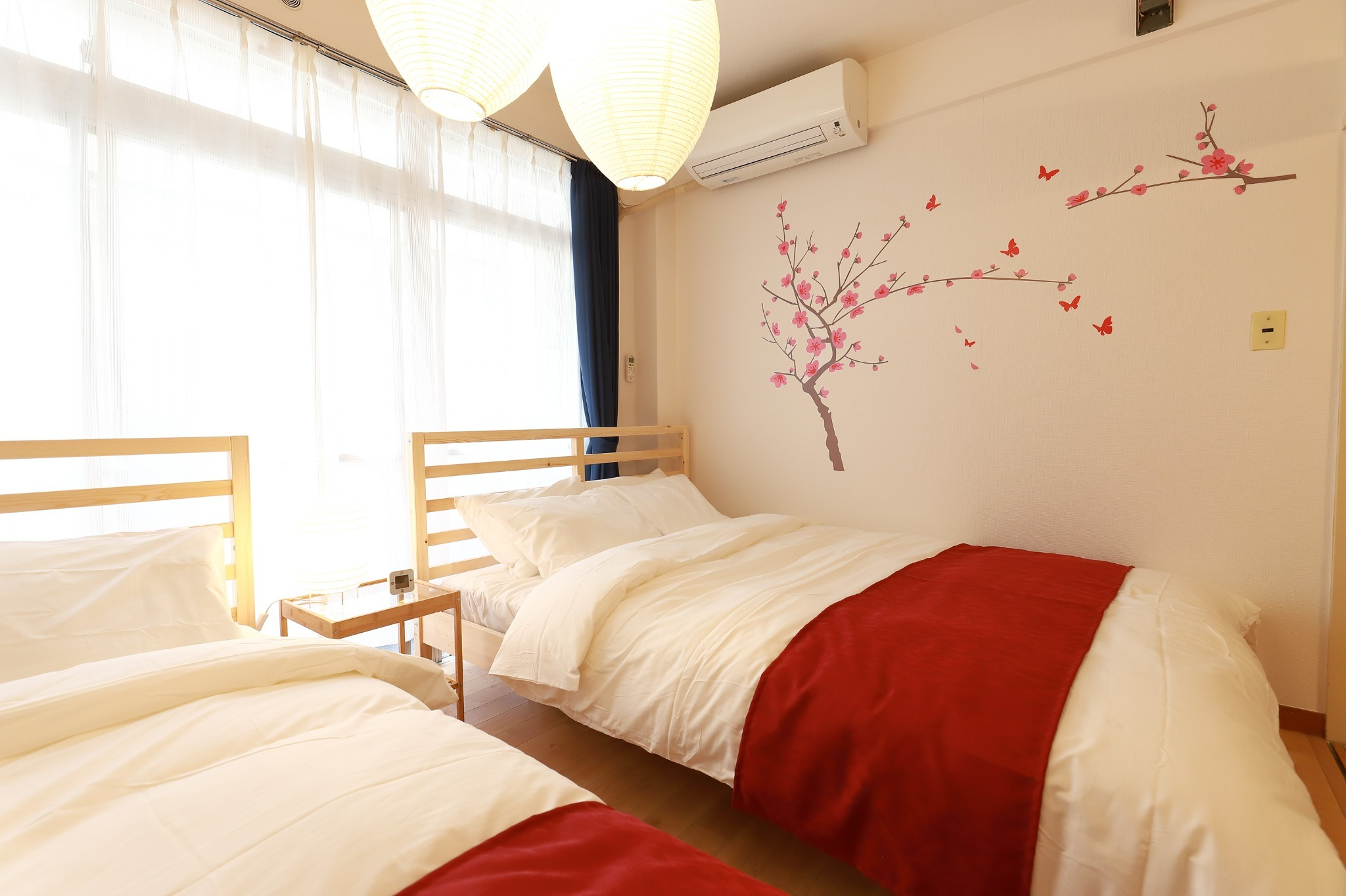 double bed × 2