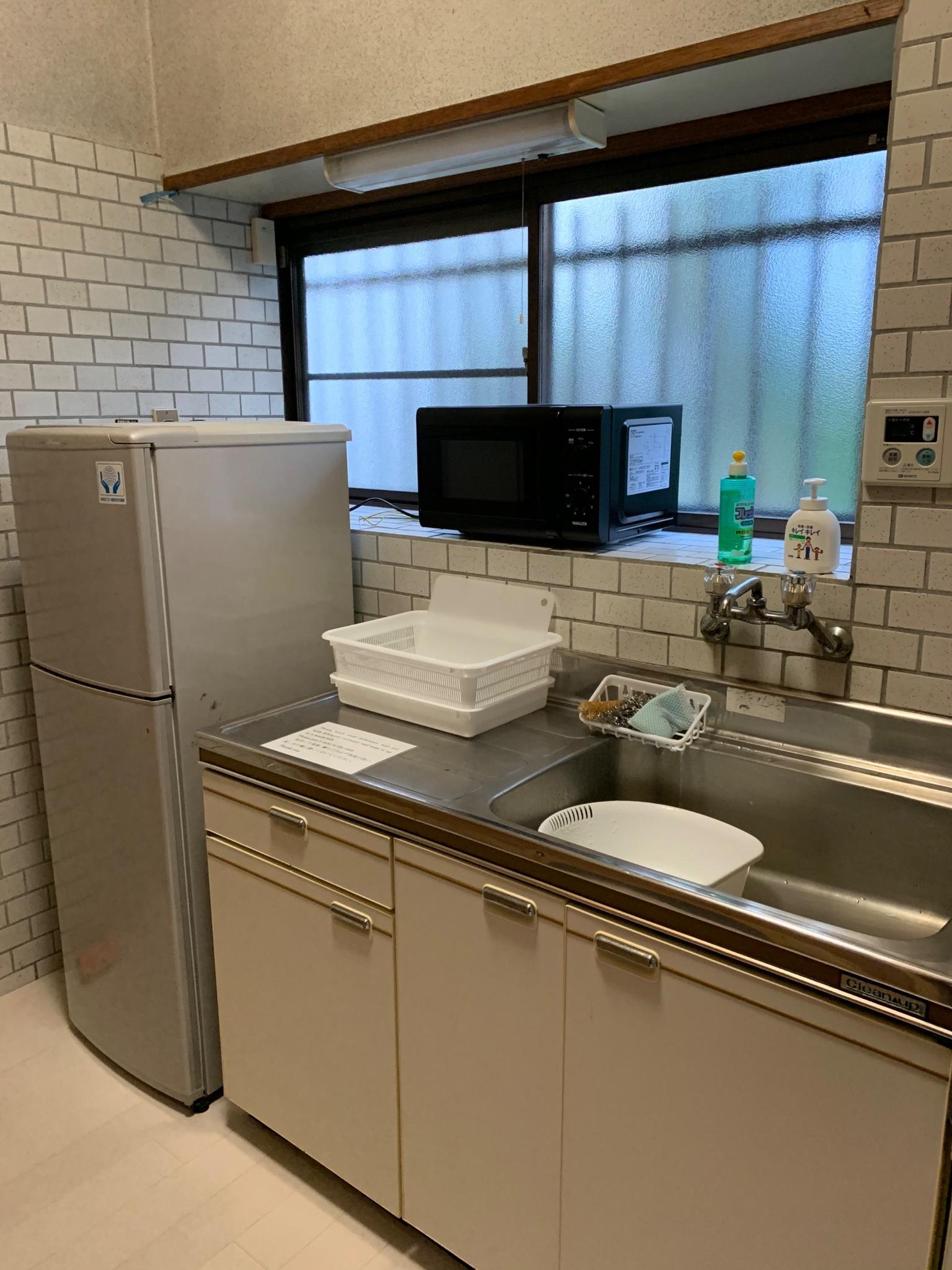 1階 キッチン 調理可能
