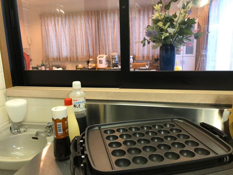 オプションで各種調理器具の貸出ができます