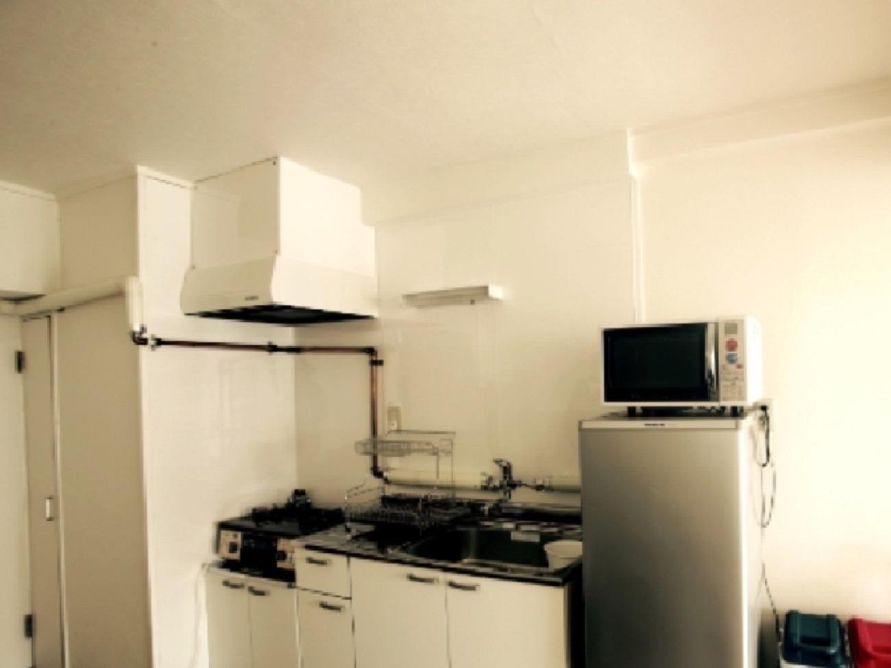 You can cook in the room! キッチン付きなのでお部屋でお料理できちゃう♪