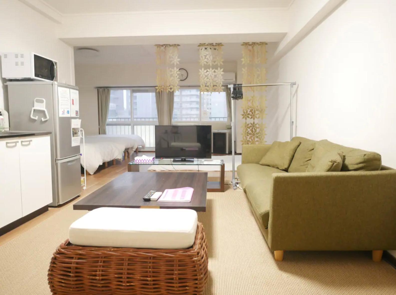 Cozy and comfortable apartment. ゆっくりくつろげるのが魅力☆