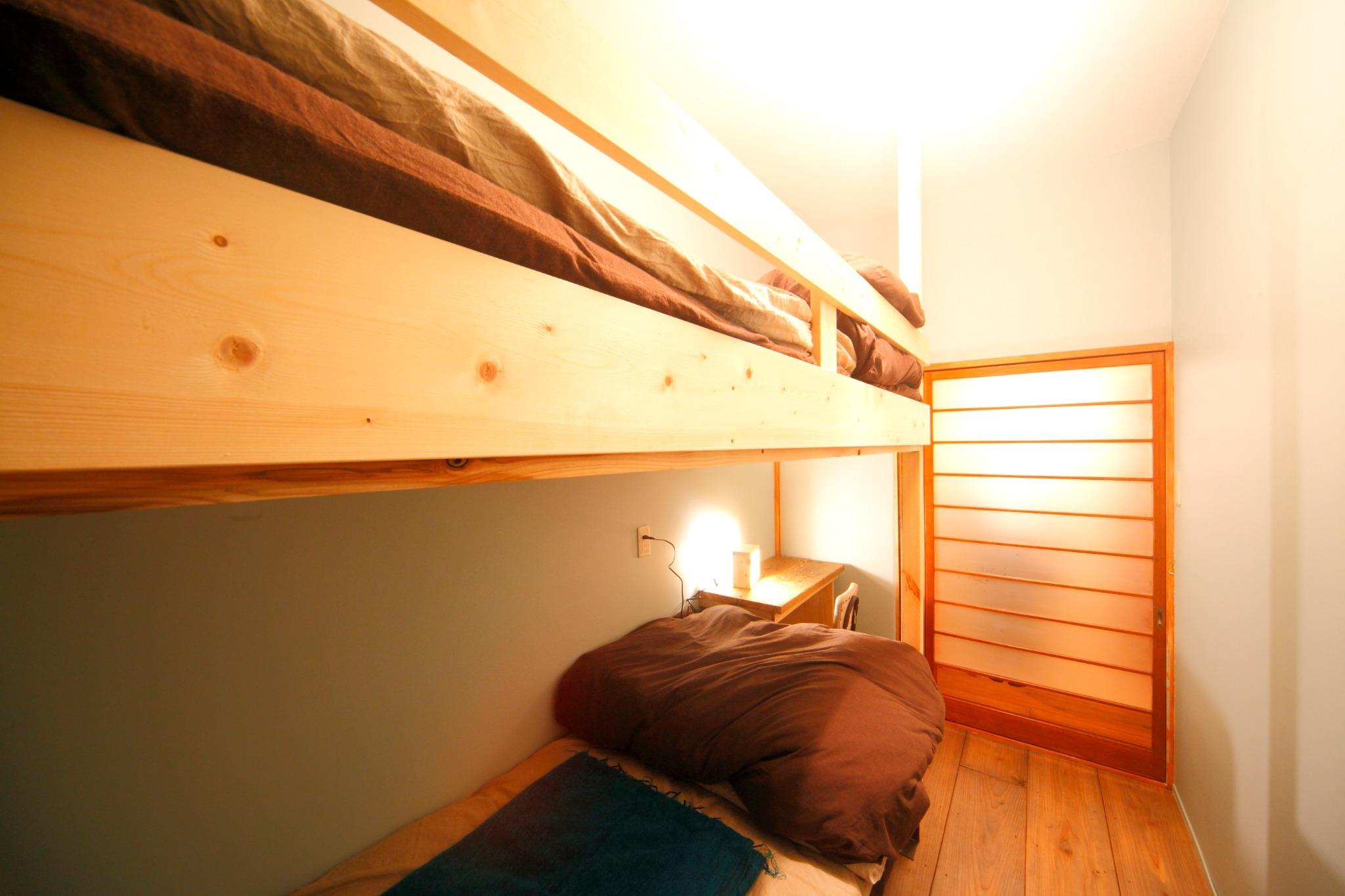 2人部屋 2段ベッドx1