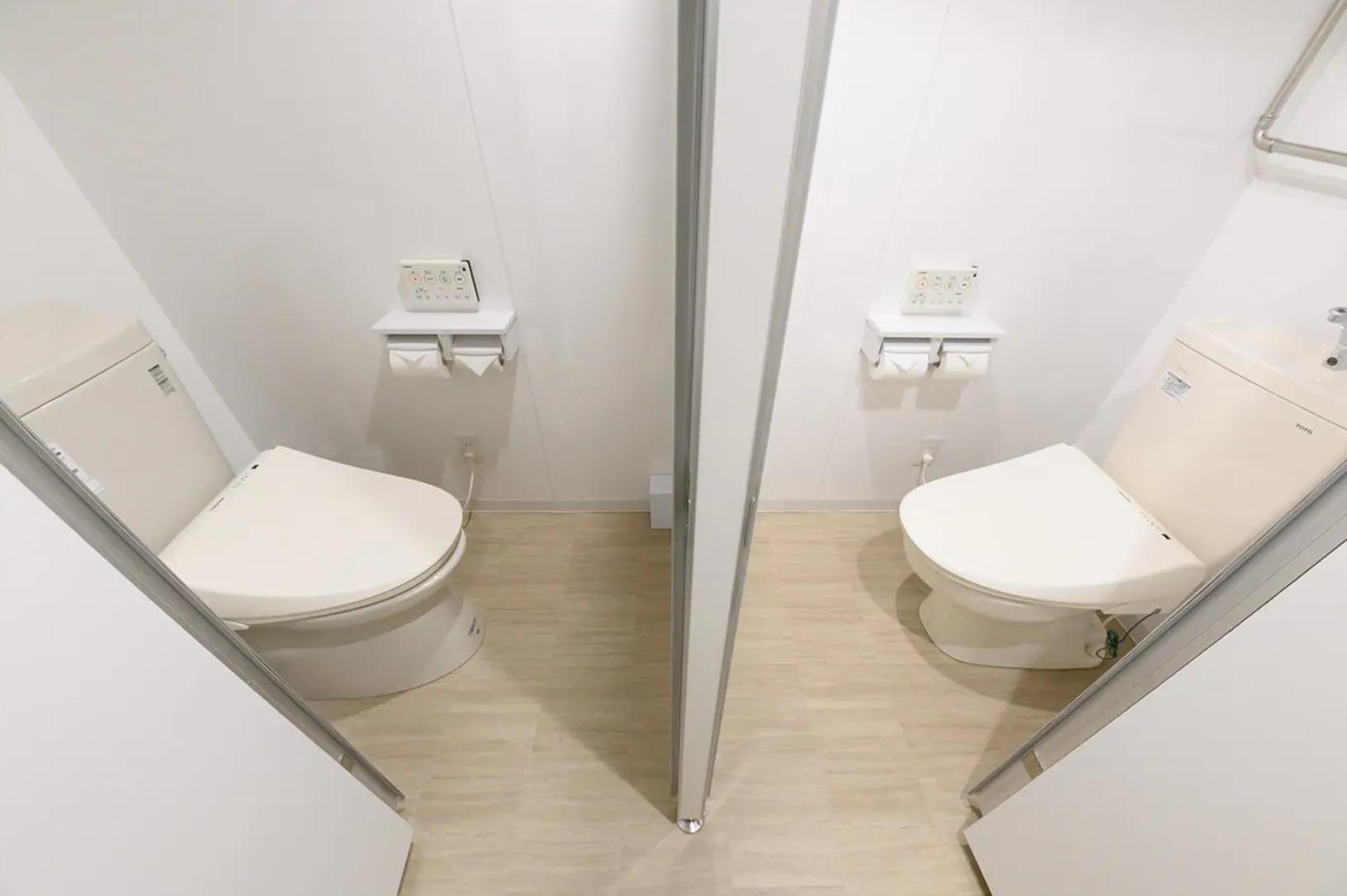 トイレは二つ