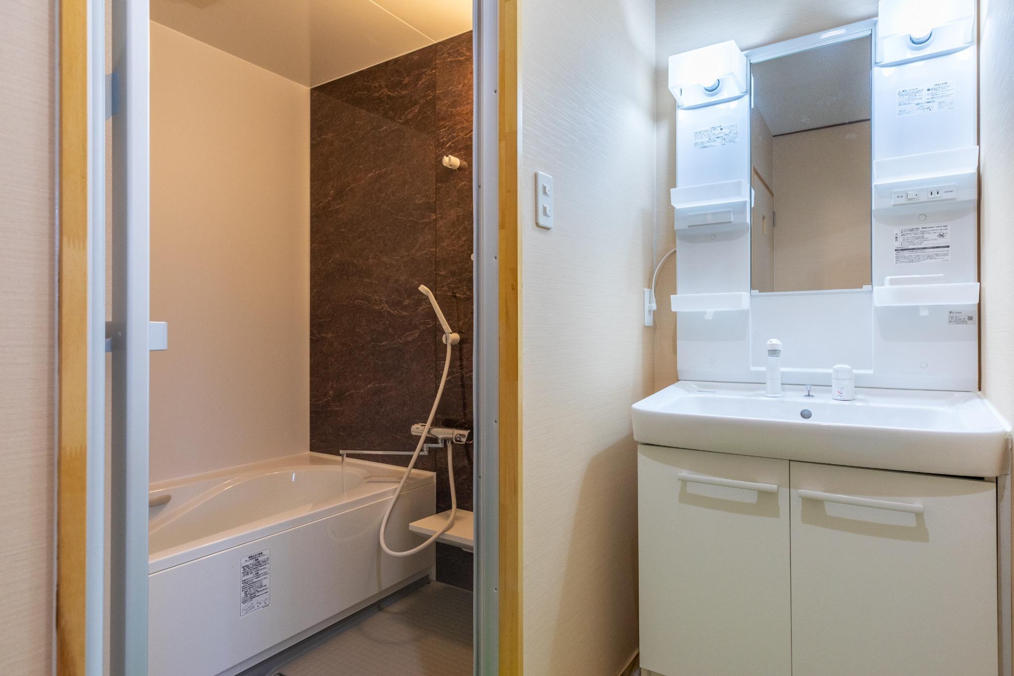 Bedroom 03 Washroom 寝室03 洗面所
