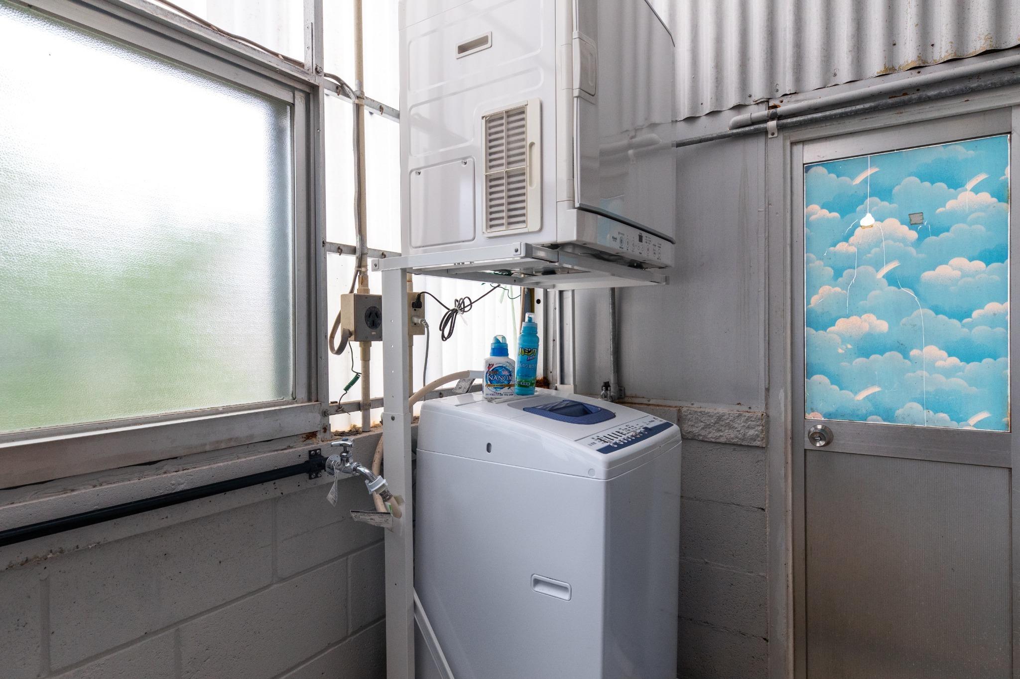 Washing machine and Dryer 洗濯機と乾燥機
