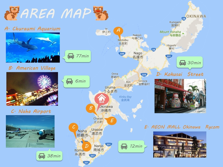 Area Map エリアマップ