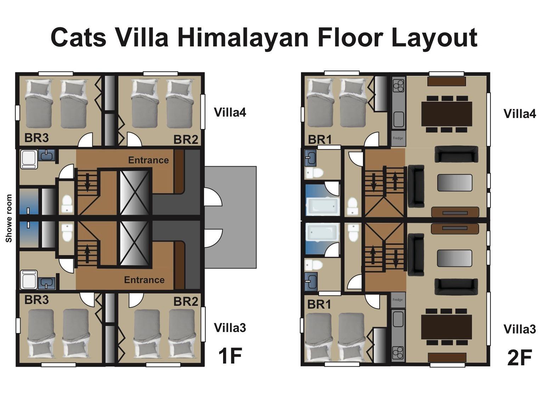 Cat's Villa34 見取り図