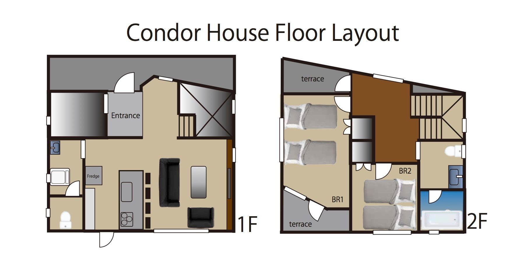 Condor House見取り図
