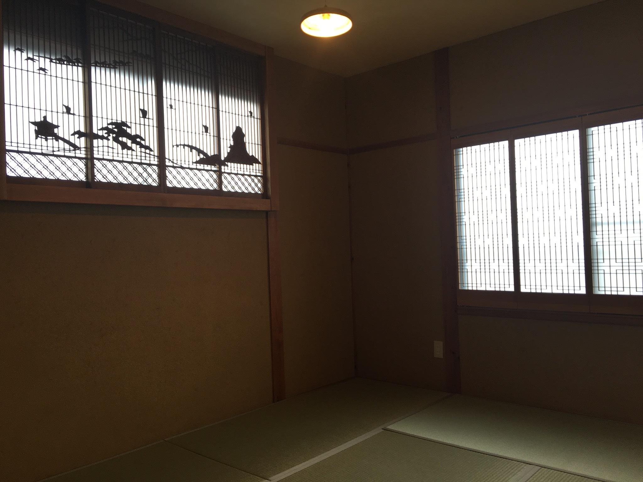 茶室風和室 畳